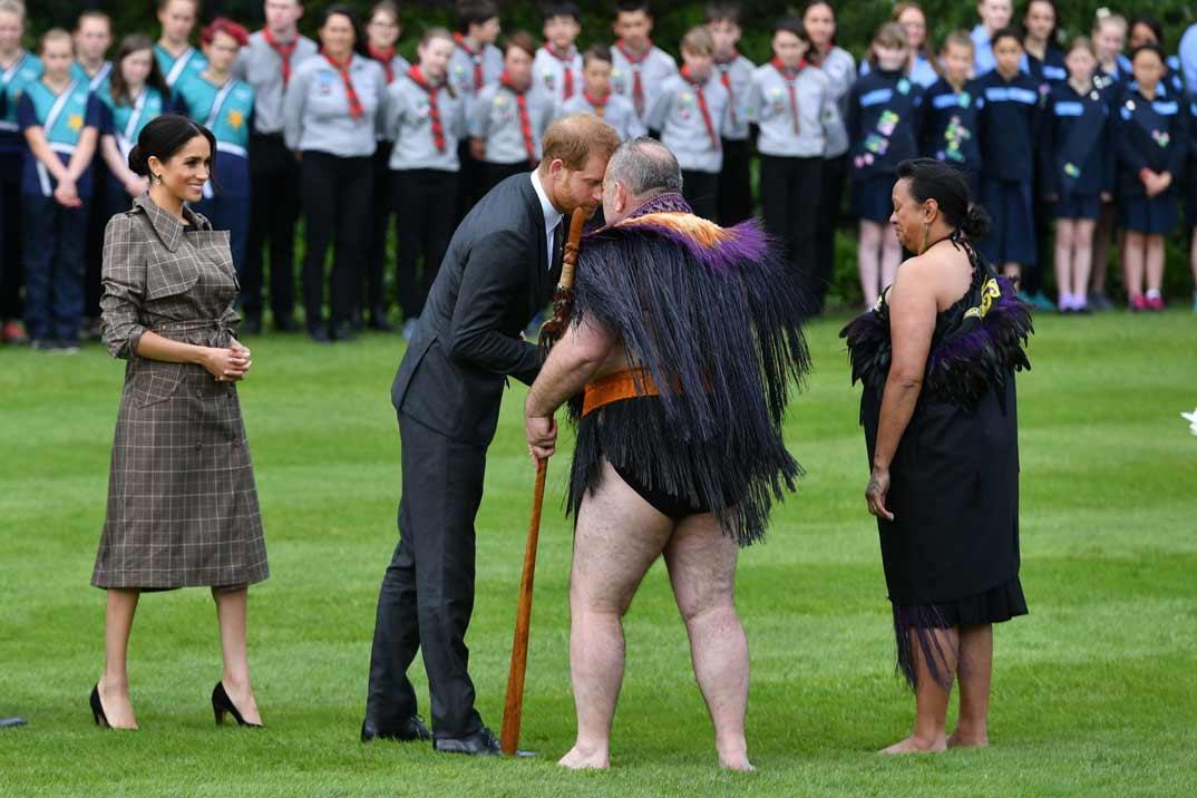 Duques de Sussex en Nueva Zelanda