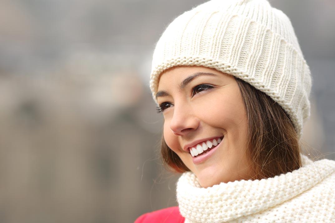 Protege el ADN de tu piel del frío