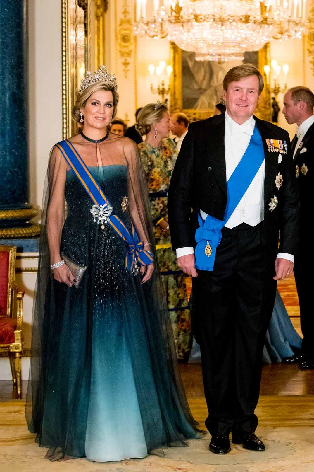 Reyes Guillermo y Máxima de Holanda