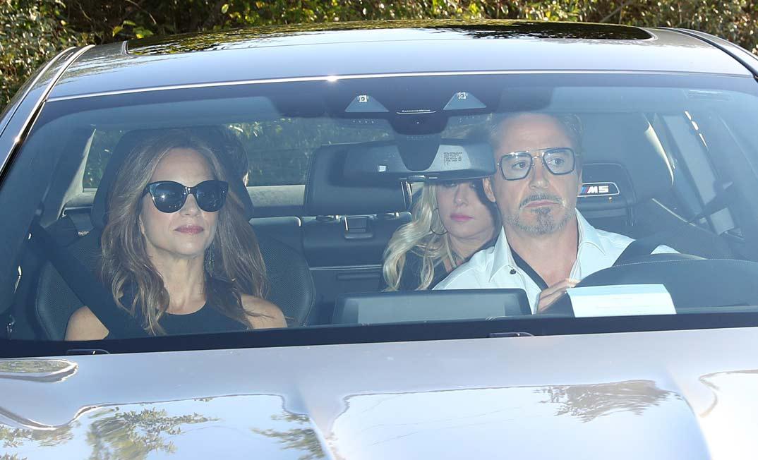 Robert Downey Jr. y su esposa