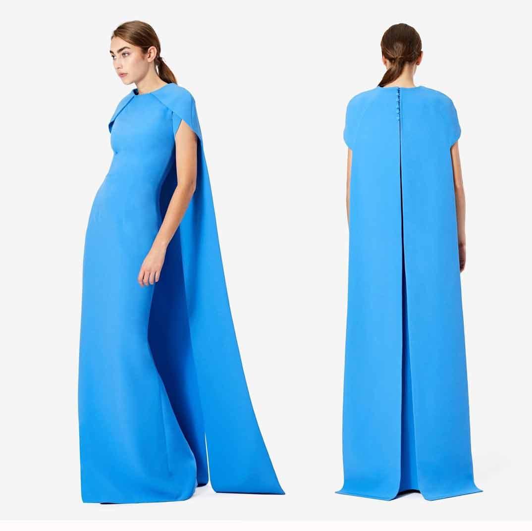 Meghan Markle - Vestido capa-