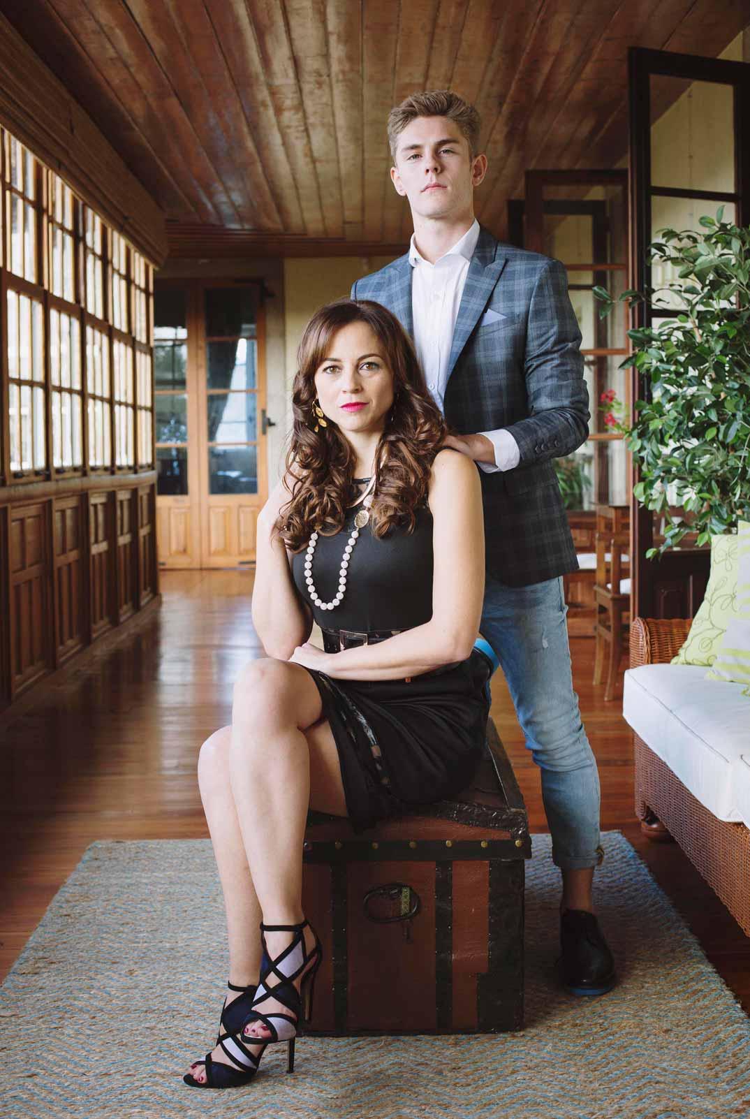 Leonor Watling y Patrick Criado- Vivir sin permiso © Mediaset