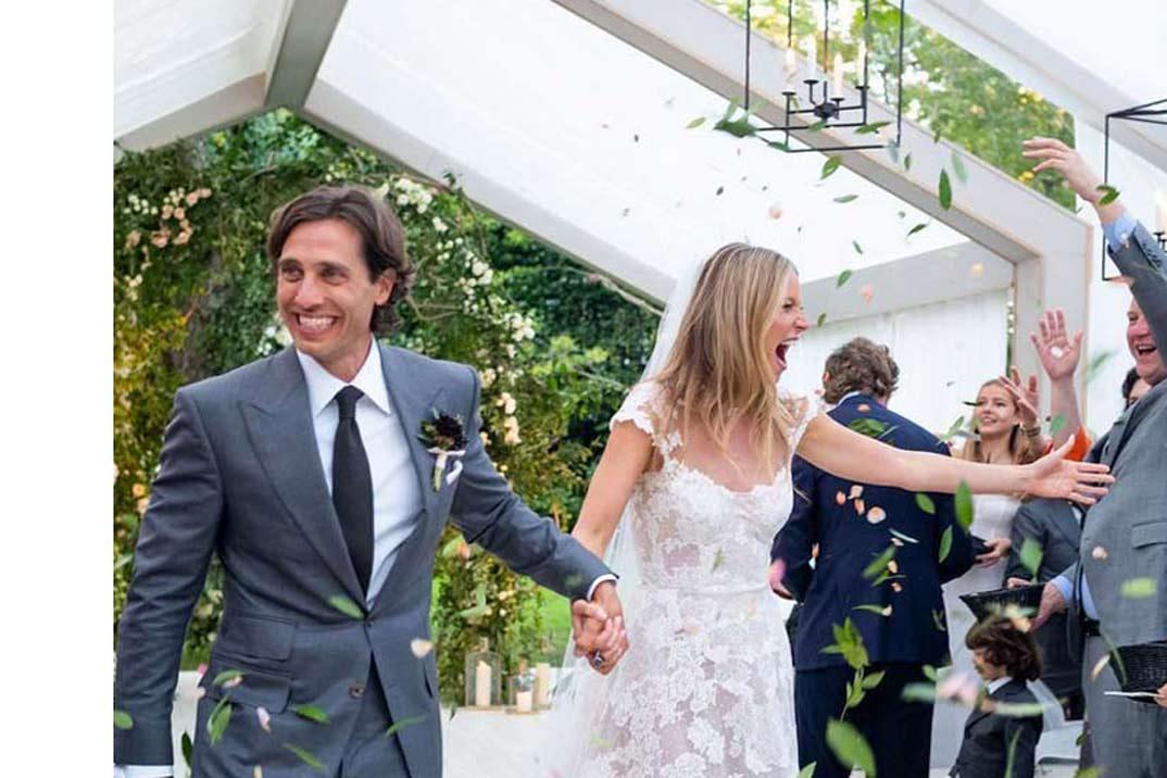 Todos los detalles de la boda de Gwyneth Paltrow