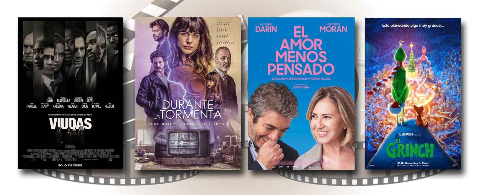 Estrenos de Cine de la Semana… 30 de Noviembre 2018