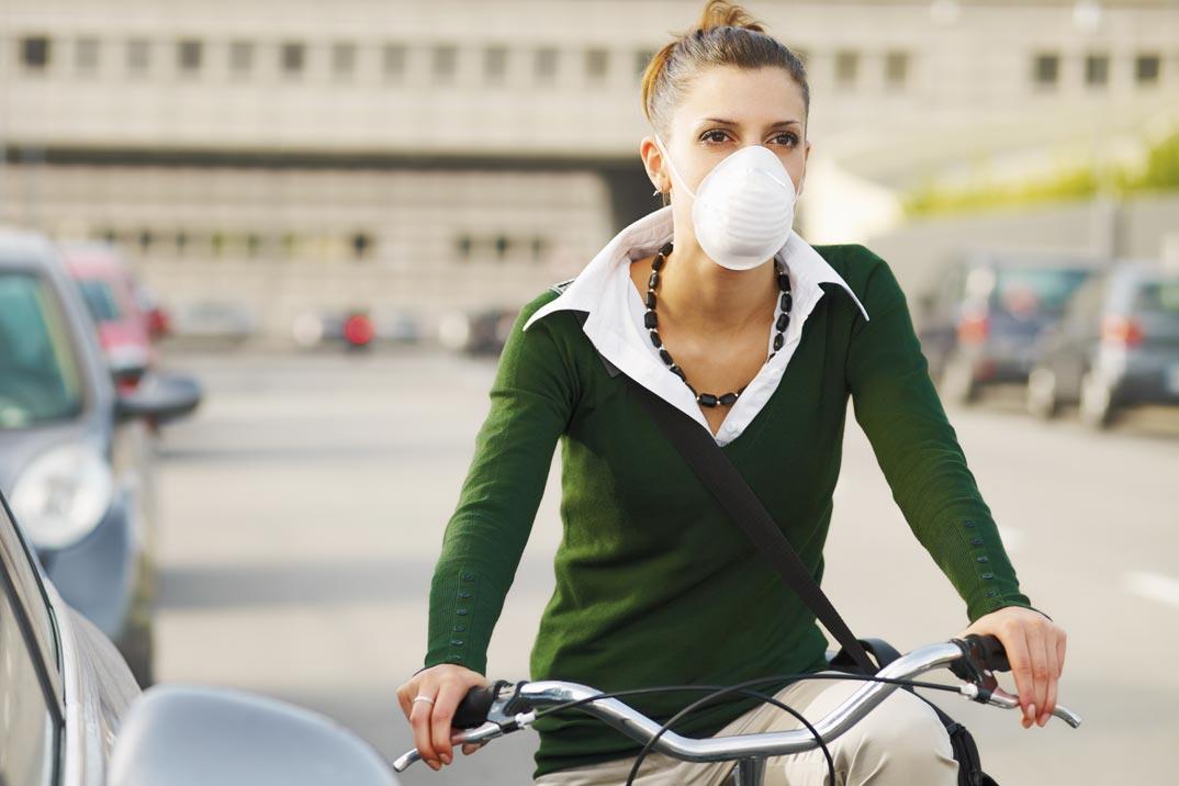 El efecto de la contaminación en la piel