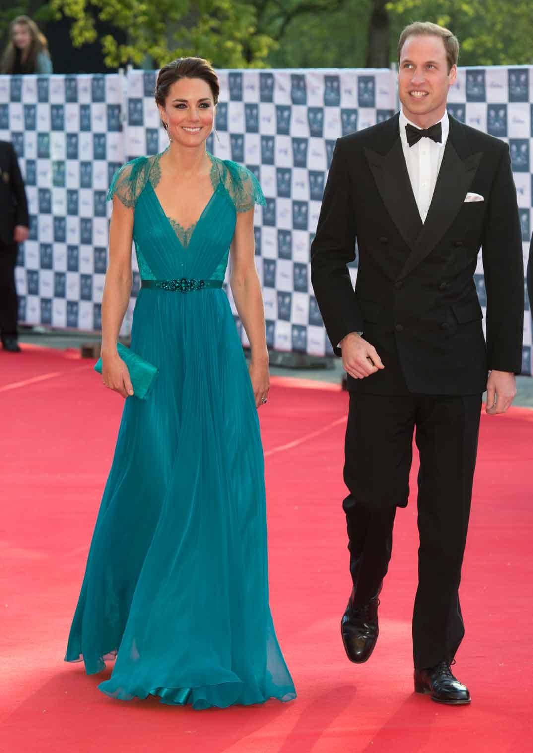 Duques de Cambridge - 2012