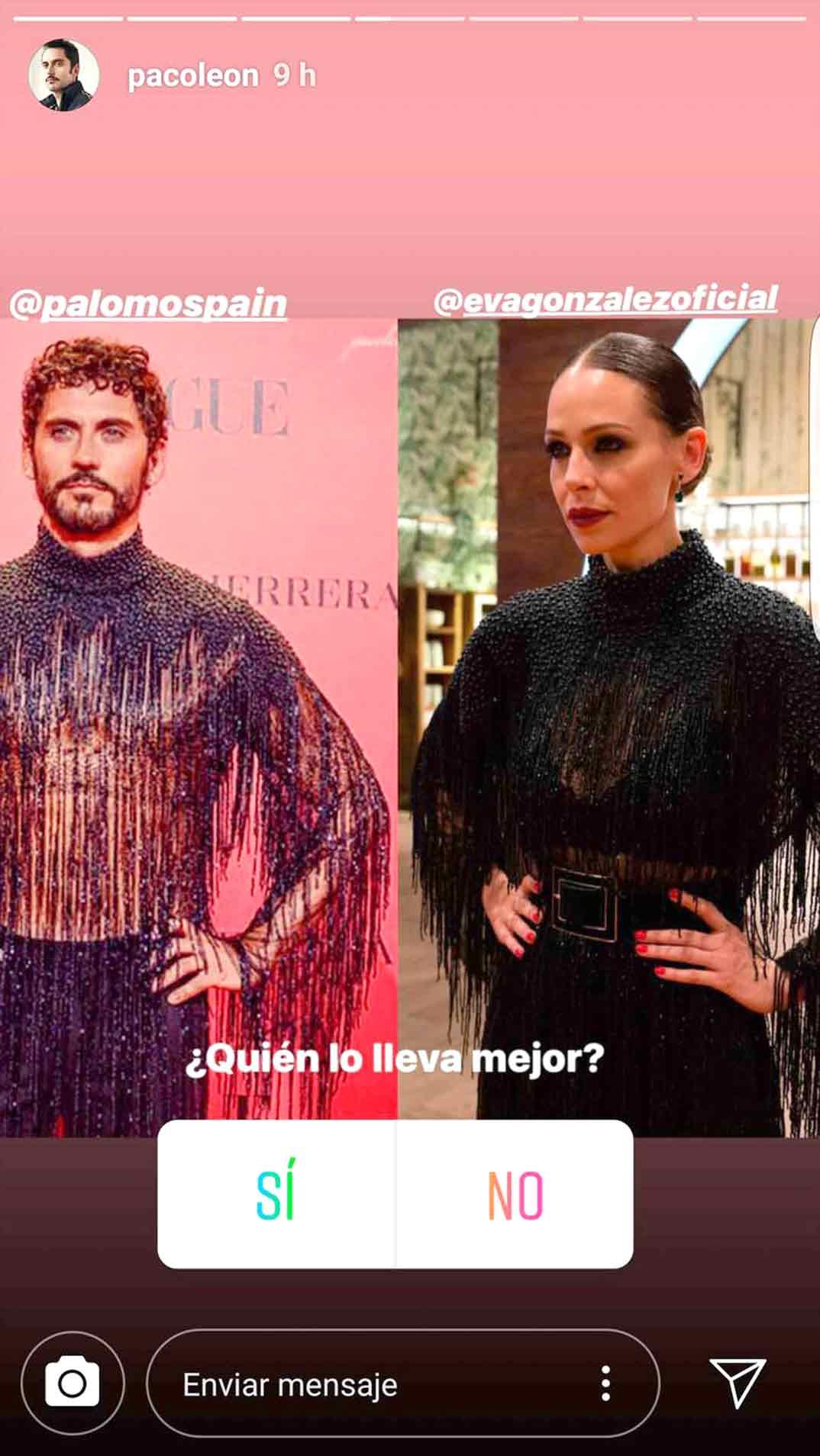 Paco Leon y Eva Gonzalez © Redes Sociales