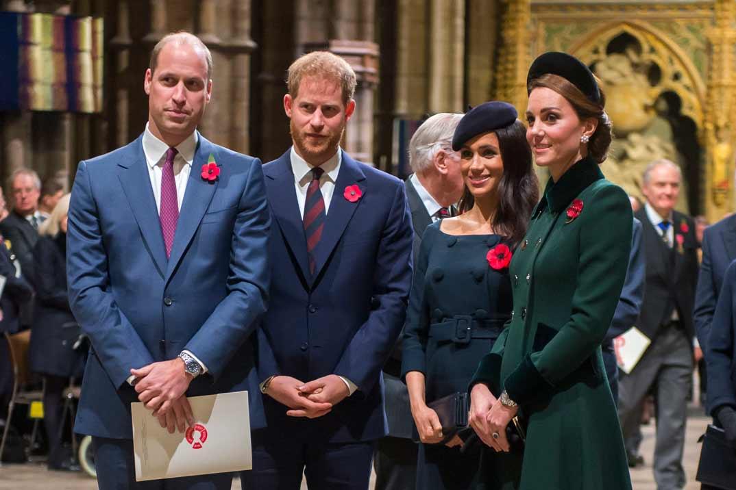 """Kate Middleton y Meghan Markle """"obligadas"""" a pasar juntas la Navidad"""
