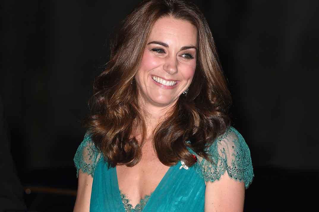 El arte de reciclar un vestido, por Kate Middleton