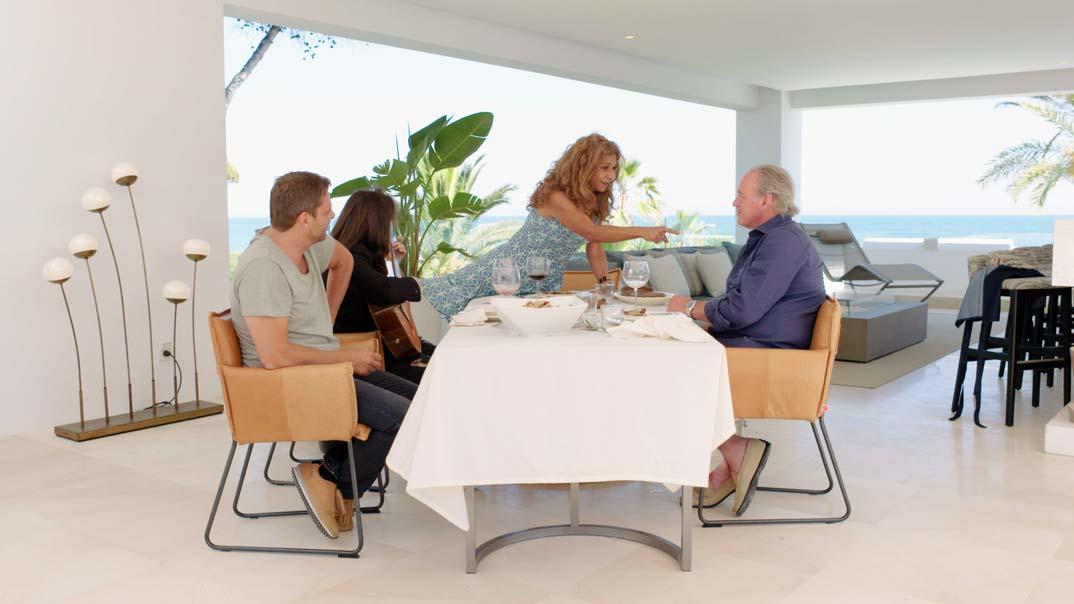 Lolita Flores y Bertín Osborne en Mi casa es la tuya © Mediaset