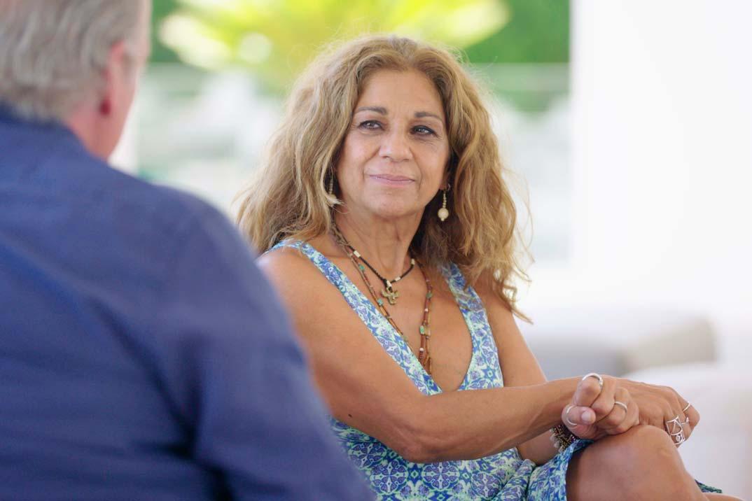 Lolita Flores recuerda su accidentada boda