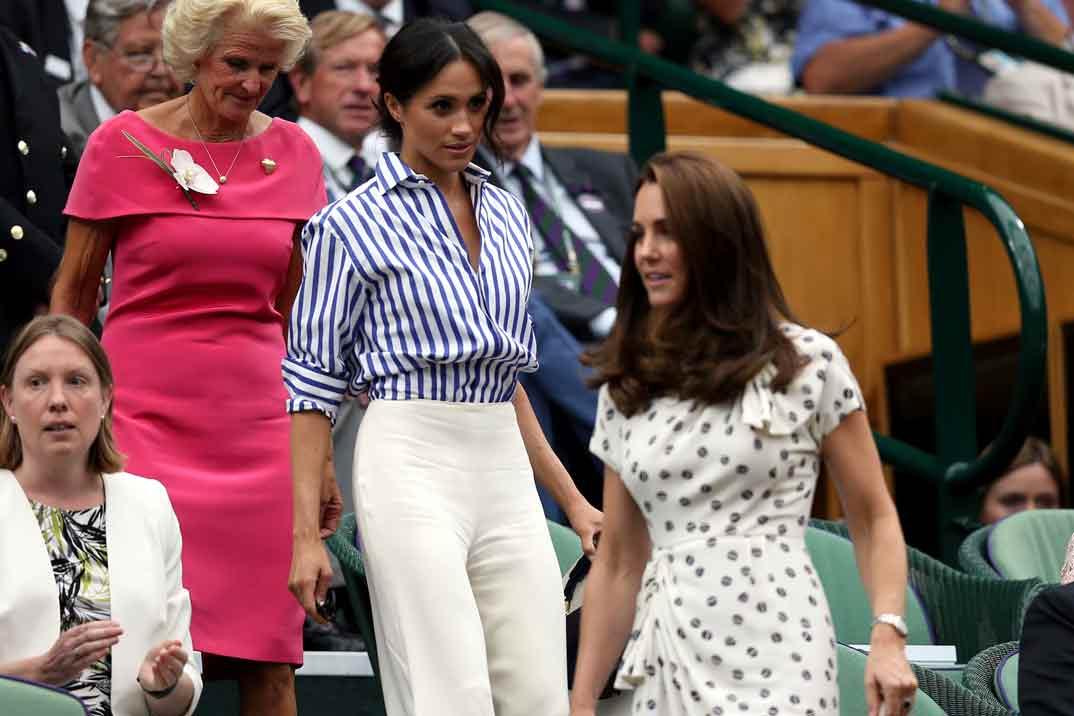 ¿Hizo Meghan Markle llorar a Kate Middleton?