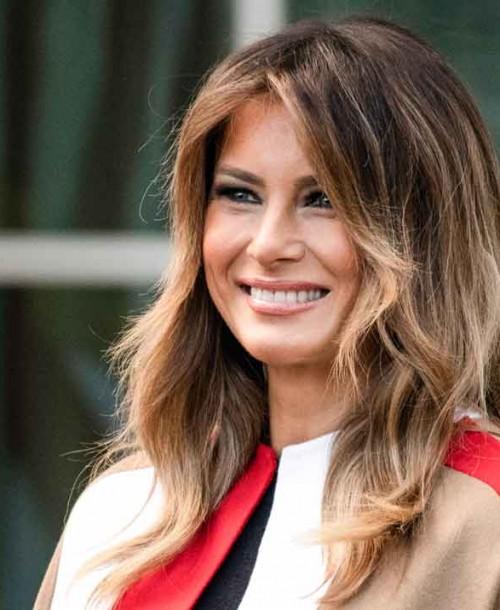 ¿Por qué se ha hecho viral el abrigo de Melania Trump?
