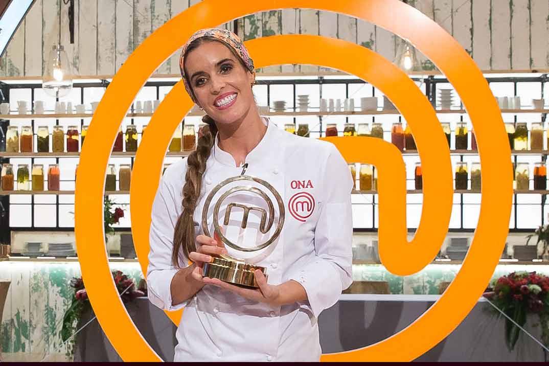 """Ona Carbonell, la gran ganadora de """"MasterChef Celebrity"""""""