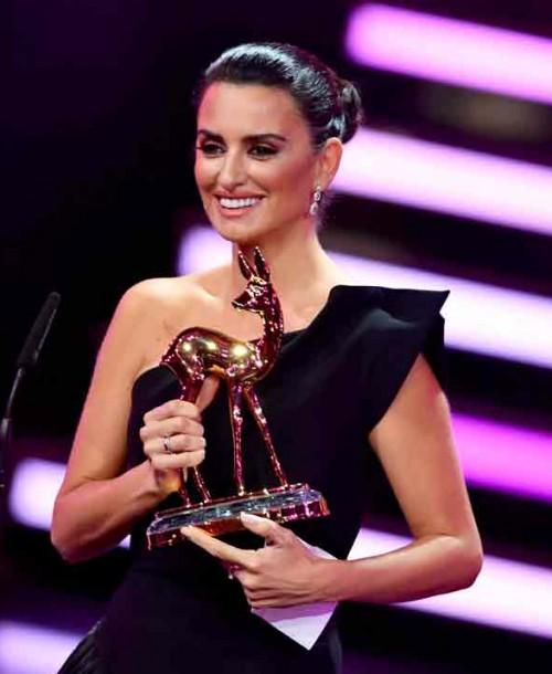 Penélope Cruz, mejor actriz internacional en los Premios Bambi