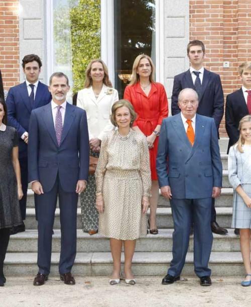 La imagen más feliz de la Reina Sofía en su 80 cumpleaños