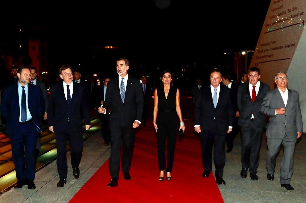 Reyes Felipe y Letizia - Noche de la Economía Valenciana © Casa S.M. El Rey