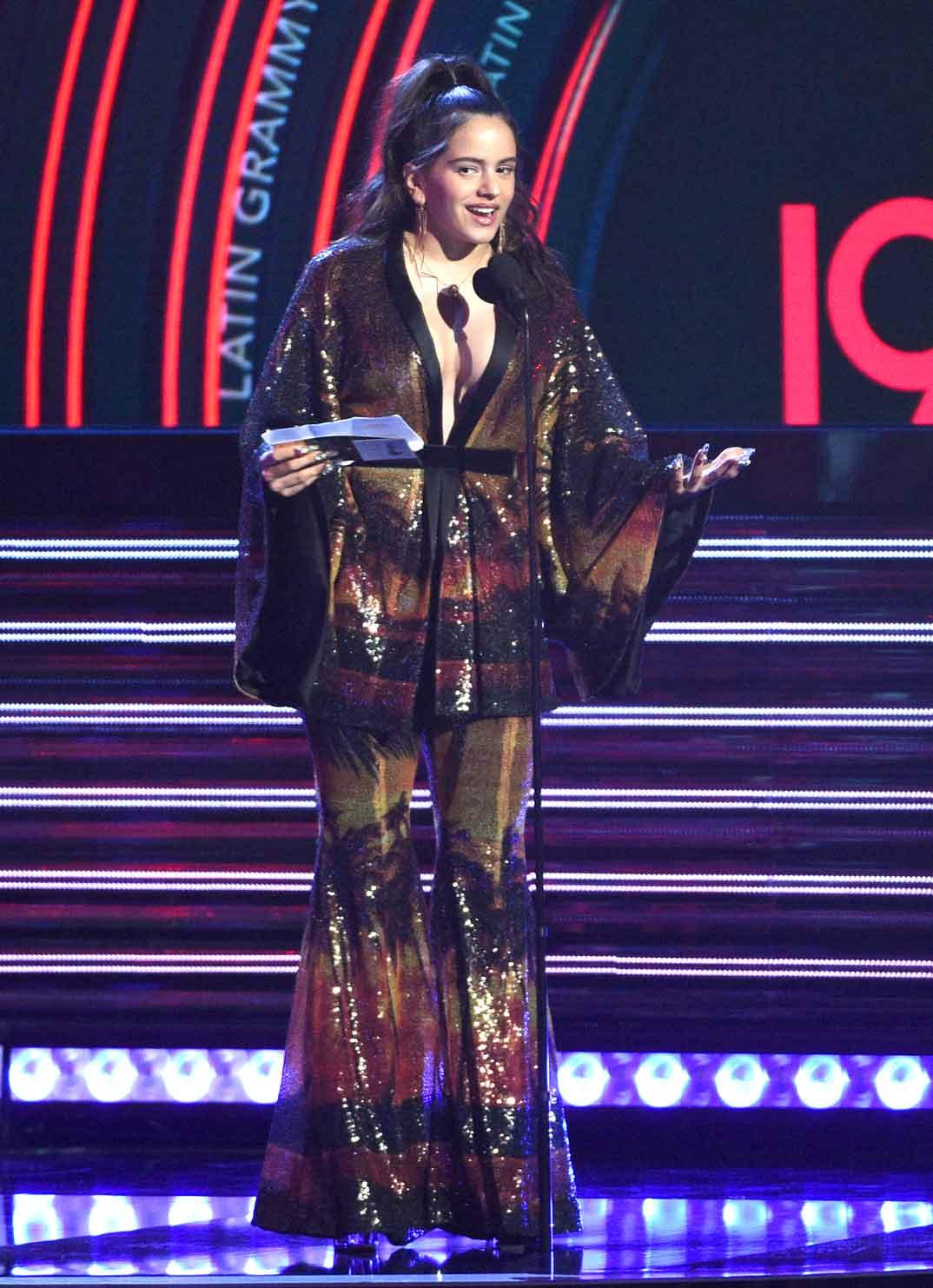 Rosalía -Premios Grammy - 2018