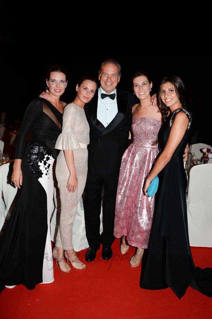 Bertín Osborne con sus hijas - 2014