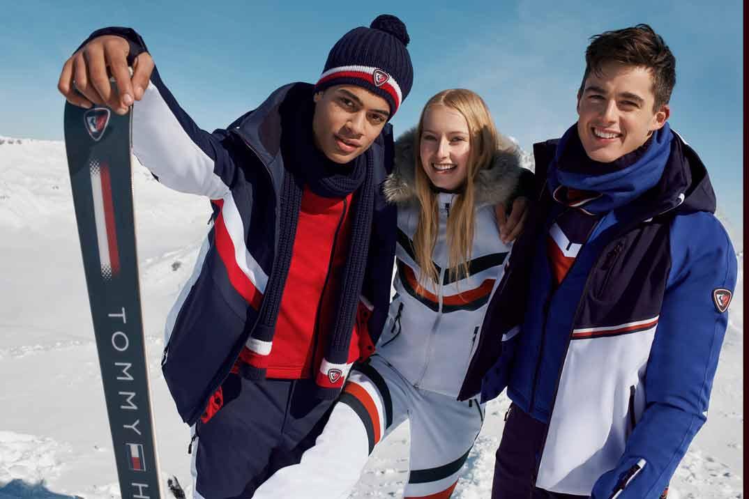 Tommy Hilfiger lanza su segunda colección de esquí