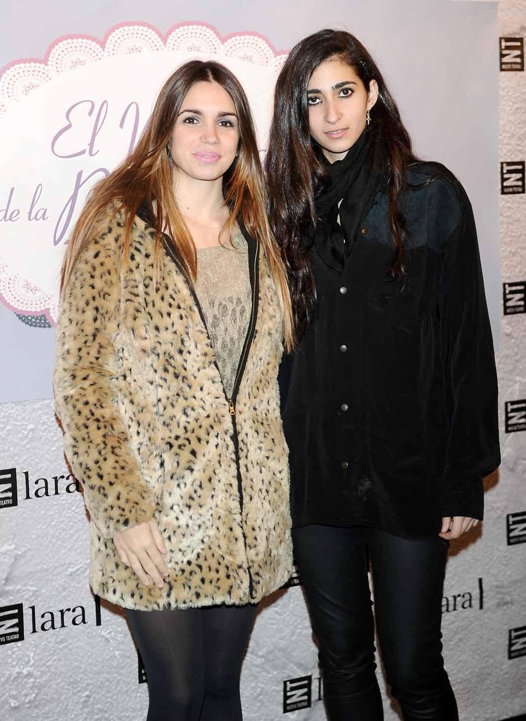 Elena Furiase y Alba Flores