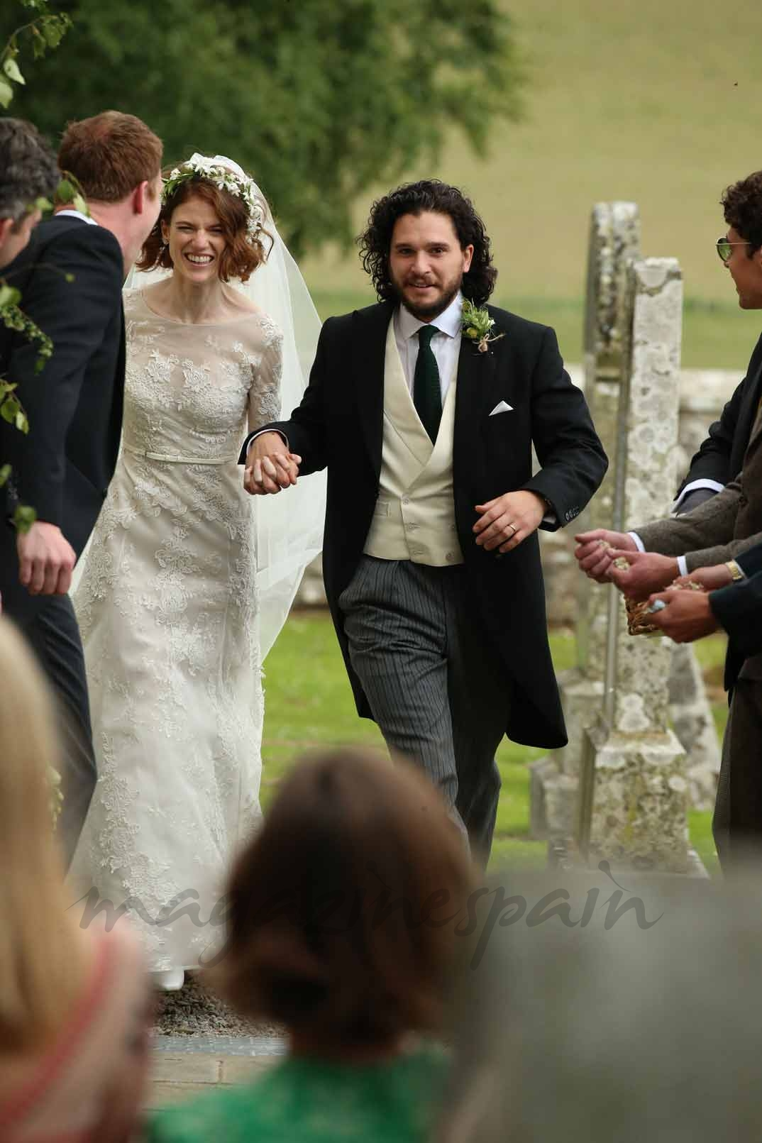 Boda Kit Harington y Rose Leslie (23/6/18)