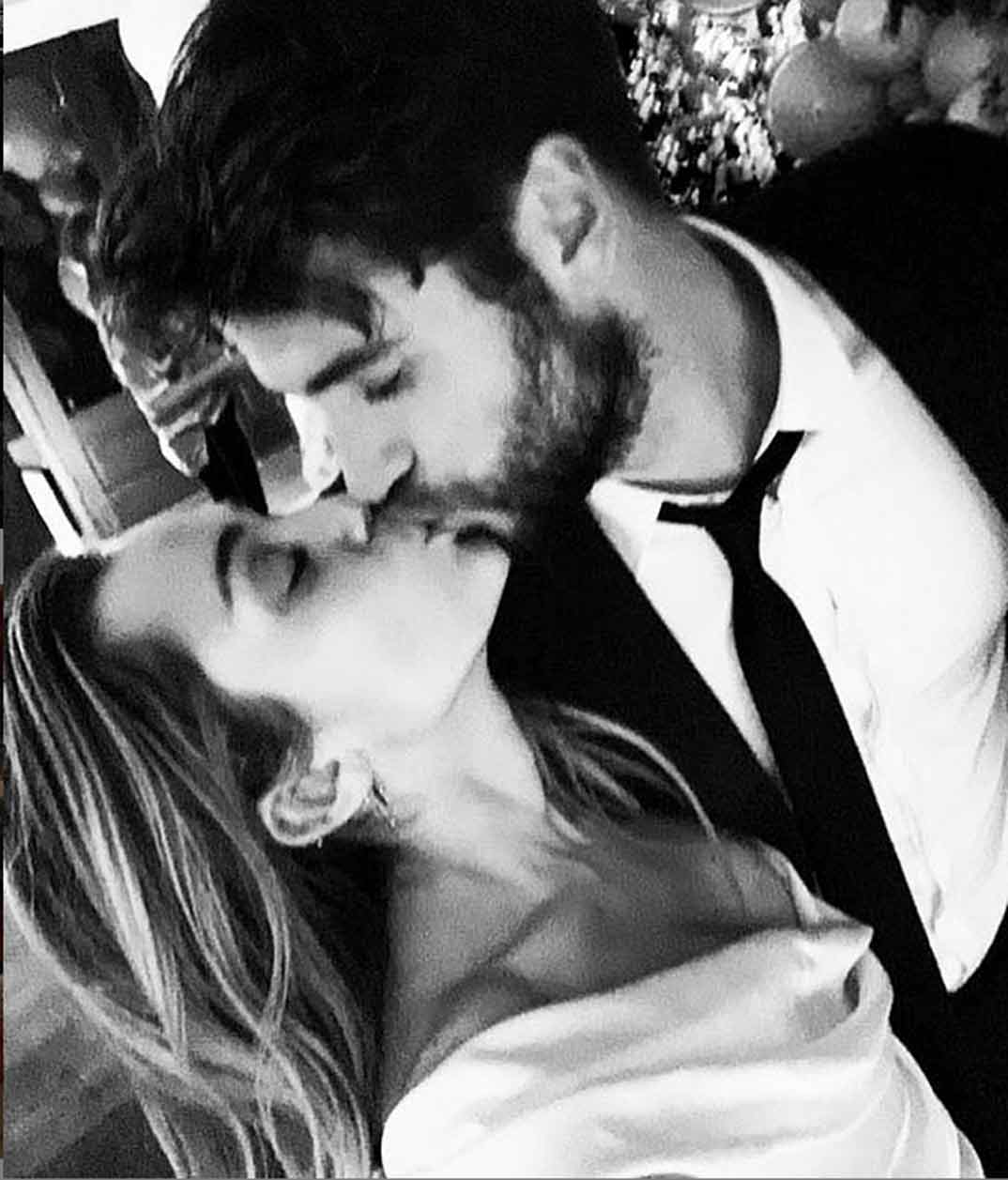 Boda Miley Cyrus y Liam Hemsworth (23/12/18)