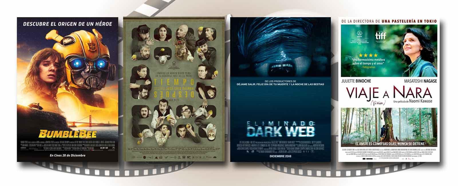 Estrenos de Cine de la Semana… 28 de Diciembre 2018