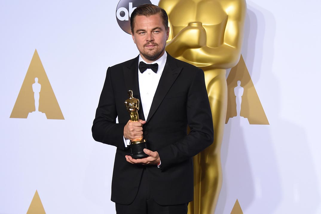 Revelan que Leonardo DiCaprio deberá devolver un premio Oscar