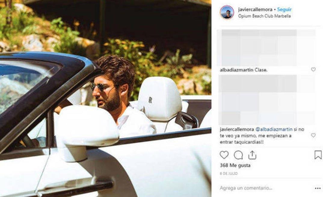 Javier Calle Mora © Instagram