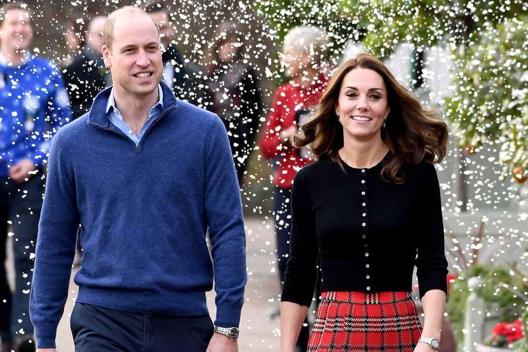 Se filtra la felicitación navideña de los Duques de Cambridge