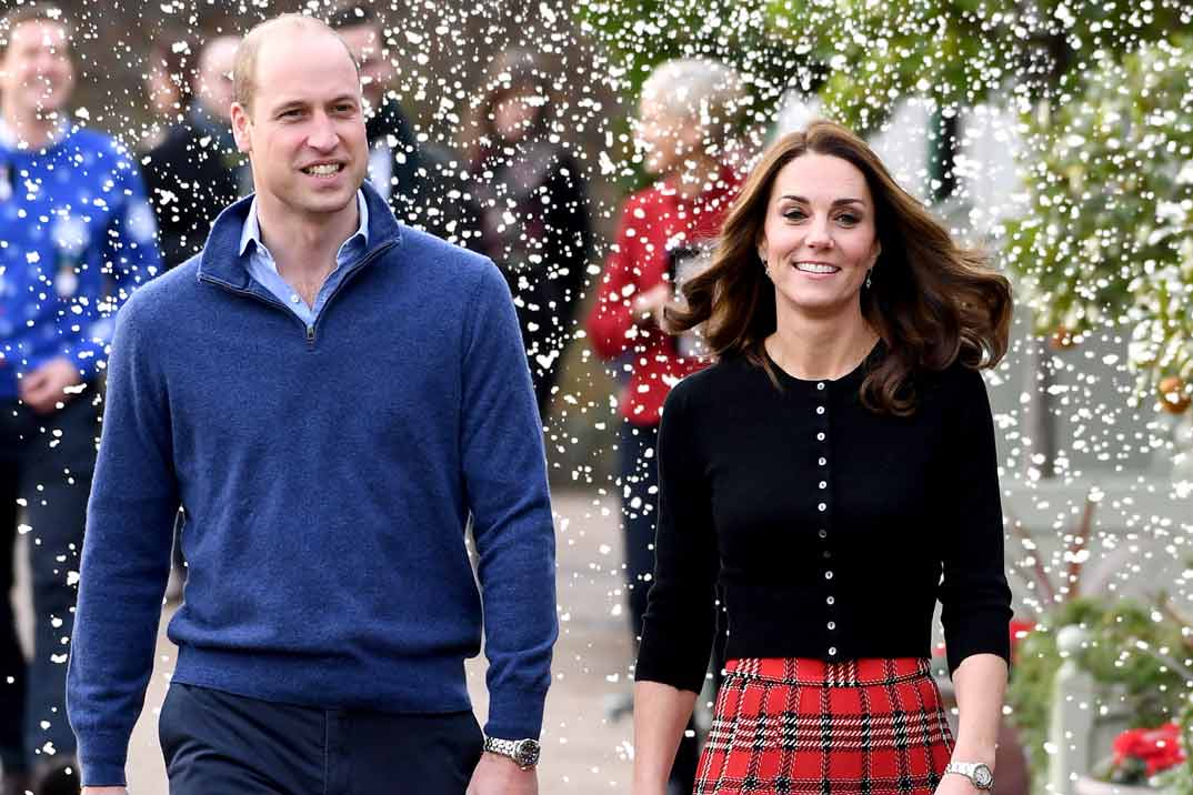 Kate Middleton lleva la Navidad al Palacio de Kensington