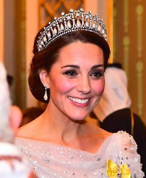 El magnífico look de gala de Kate Middleton con la tiara de Diana