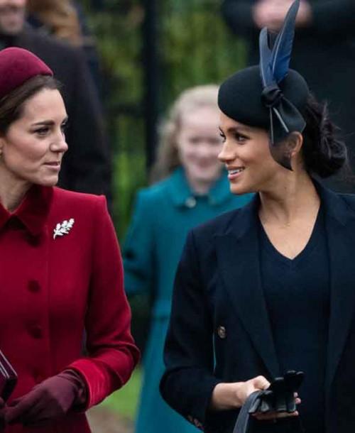 Kate Middleton y Meghan Markle, nuevo duelo de estilo en la Misa de Navidad