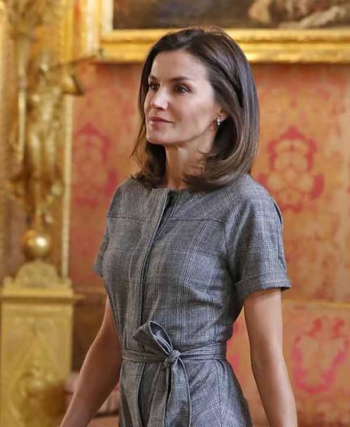 La reina Letizia apuesta por el low cost