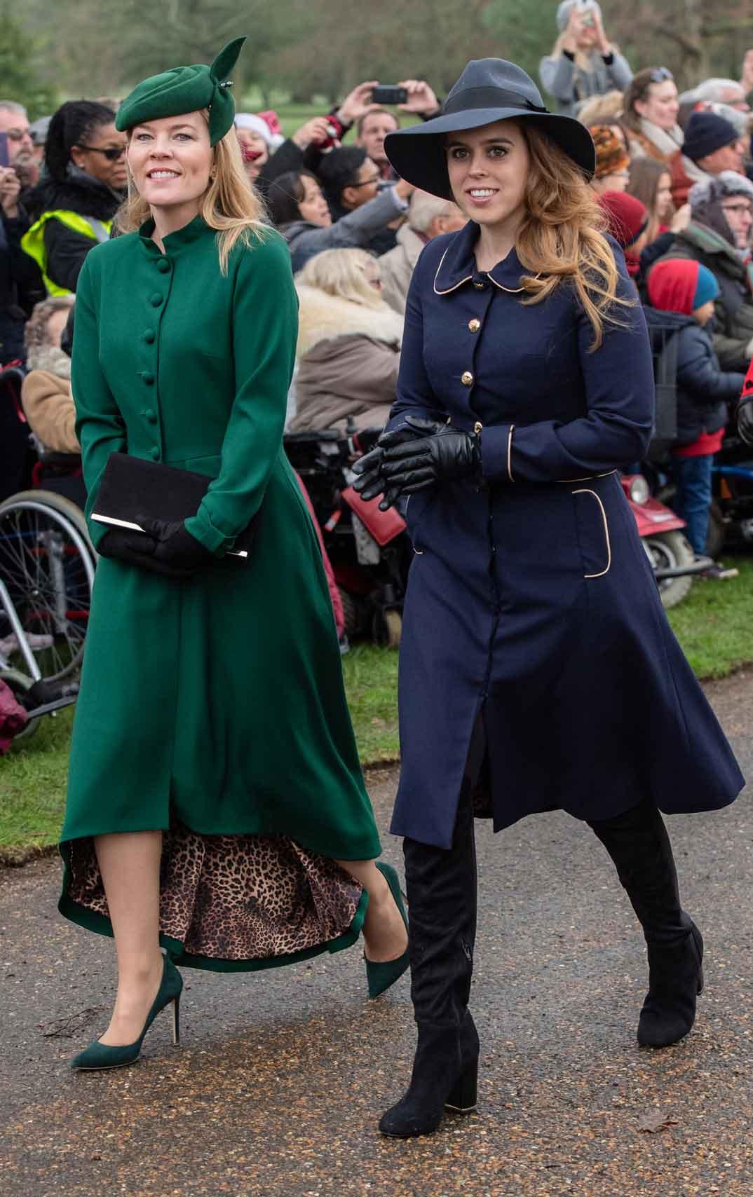 Autumn Phillips y la princesa Beatrice