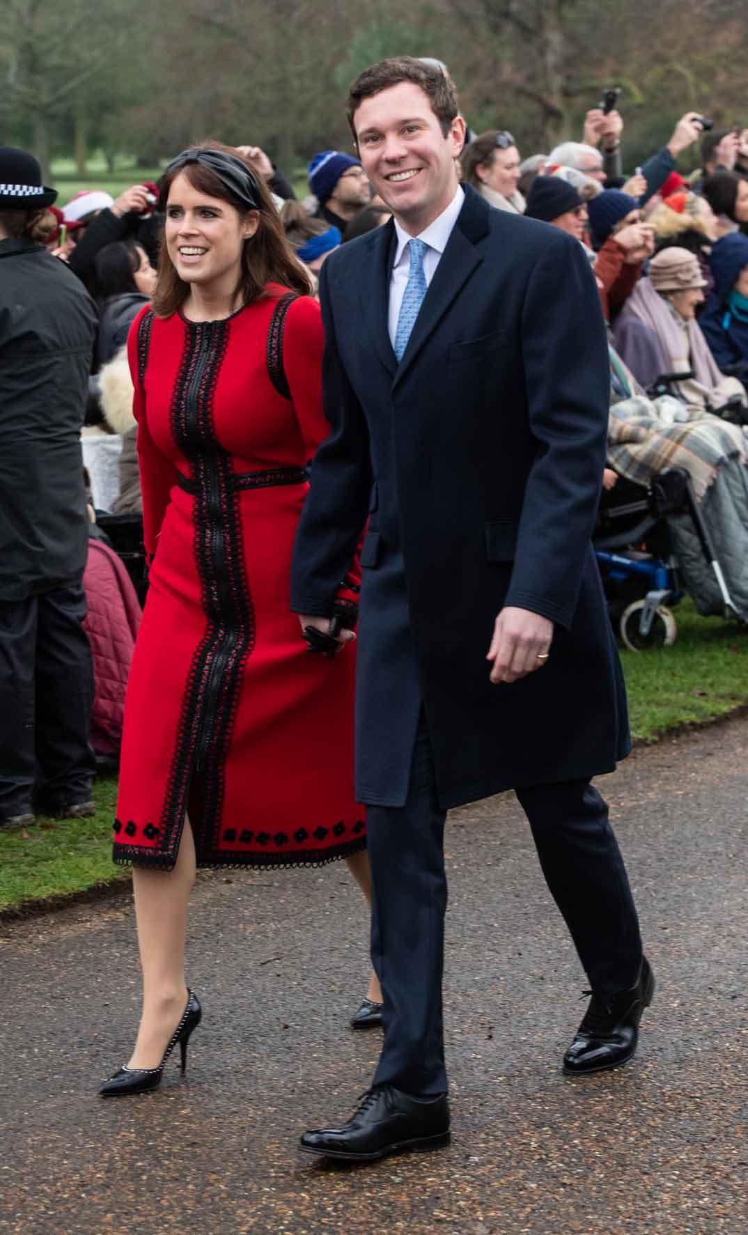 Princesa Eugenia y Jack Brooksbank