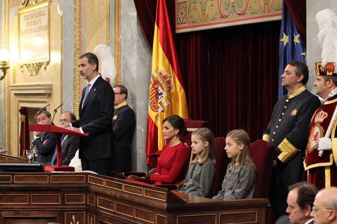Familia Real Española - 40º Anivesario Constitución Española © Casa Real S.M. El Rey