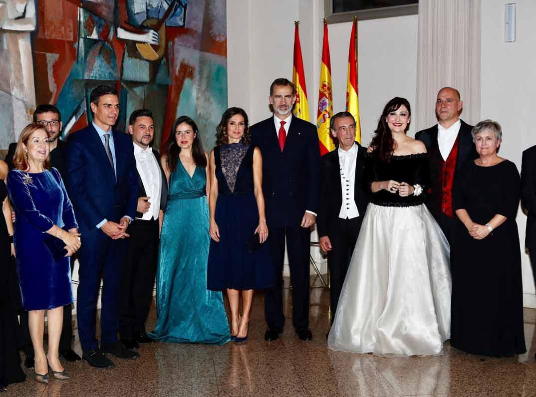 Reyes Felipe y Letizia - Concierto conmemorativo del 40º aniversario de la Constitución Española © Casa S.M. El Rey