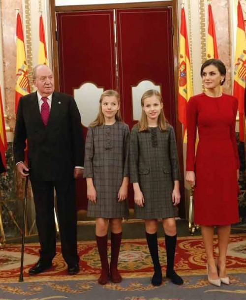 Las mejores imágenes de la Familia Real en el 40º aniversario de la Constitución Española