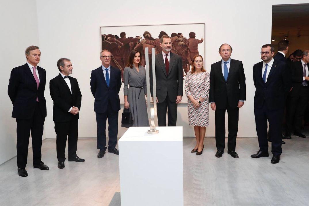 Reyes Felipe y Letizia en el Museo Nacional Centro de Arte Reina Sofía © Casa S.M. El Rey