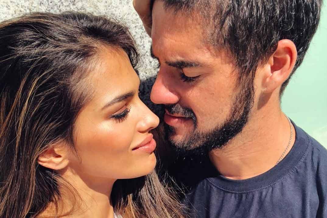Sara Sálamo e Isco Alarcón esperan su primer hijo