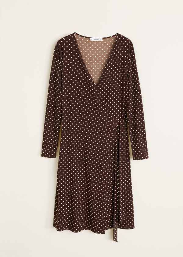 Vestido lunares Mango (19,99 euros)