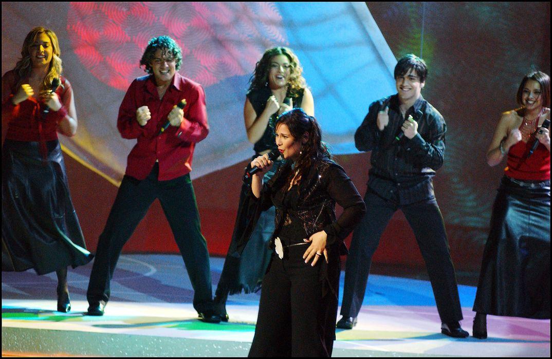 Rosa López - Festival de Eurovisión - 2002