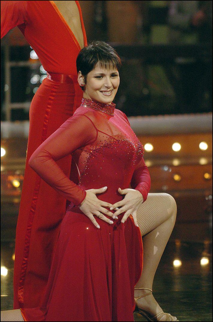 "Rosa López en ""Mira quien baila"" - 2006"