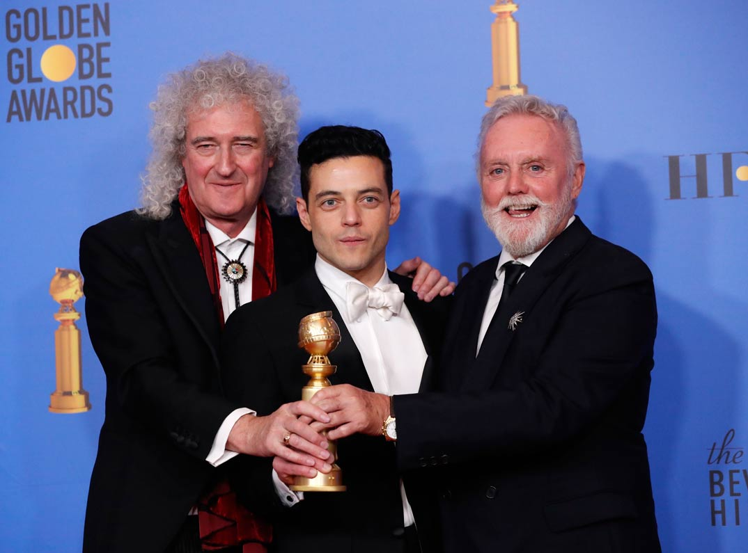 Bohemian Rhapsody - Globos de Oro 2019