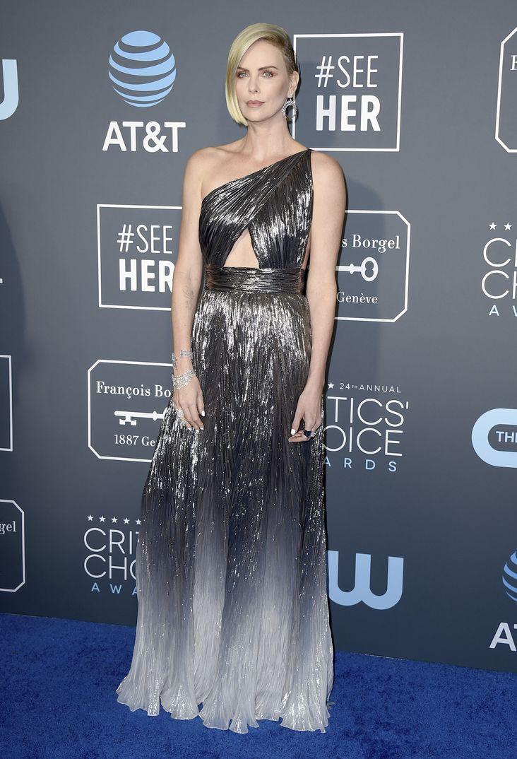 Charlize Theron Critics Choice Awards 2019