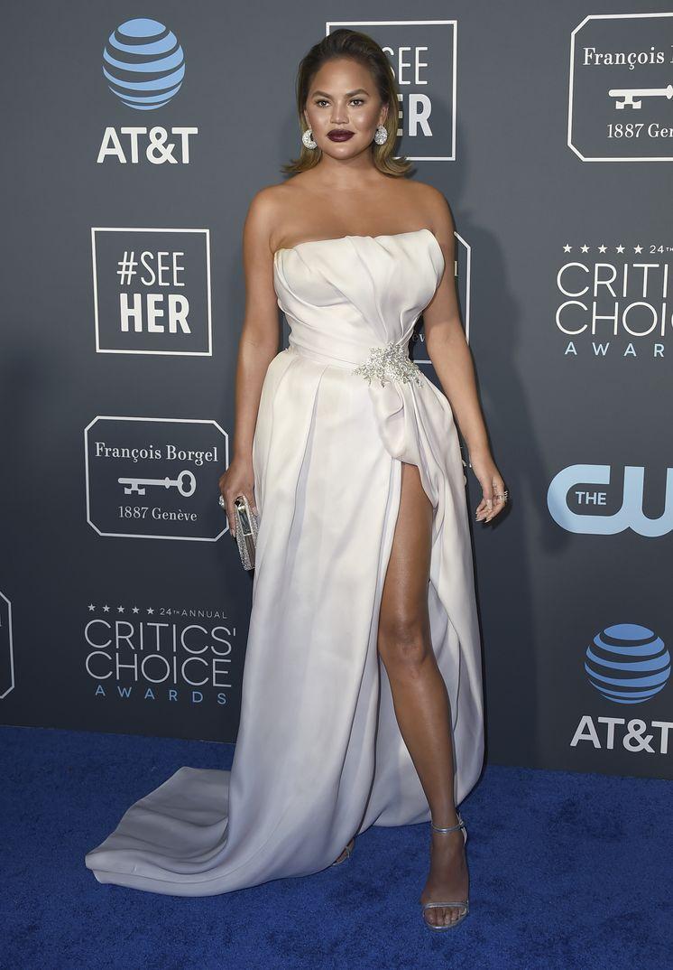 Chrissy Teigen Critics Choice Awards