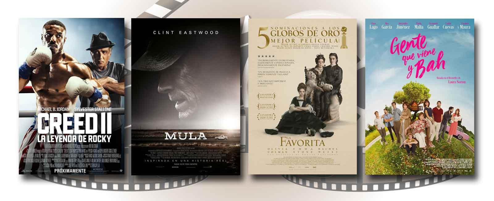 Estrenos de Cine de la Semana… 18 de Enero 2019