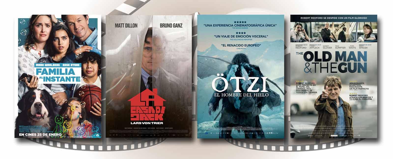 Estrenos de Cine de la Semana… 25 de Enero 2019